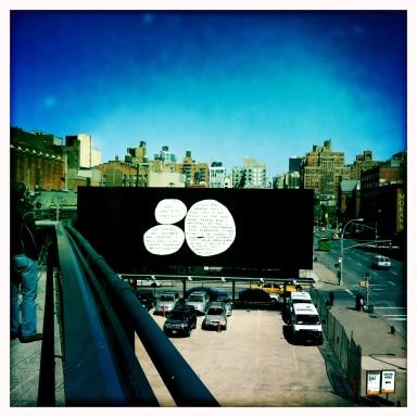 David Shrigley Highline