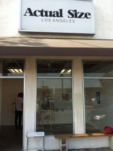 Actual Size Gallery Los Angeles